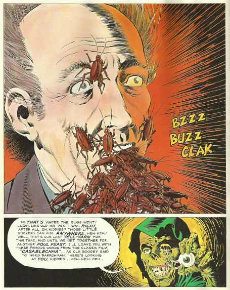 Creepshow Comic Book a Great Comic Book Artist