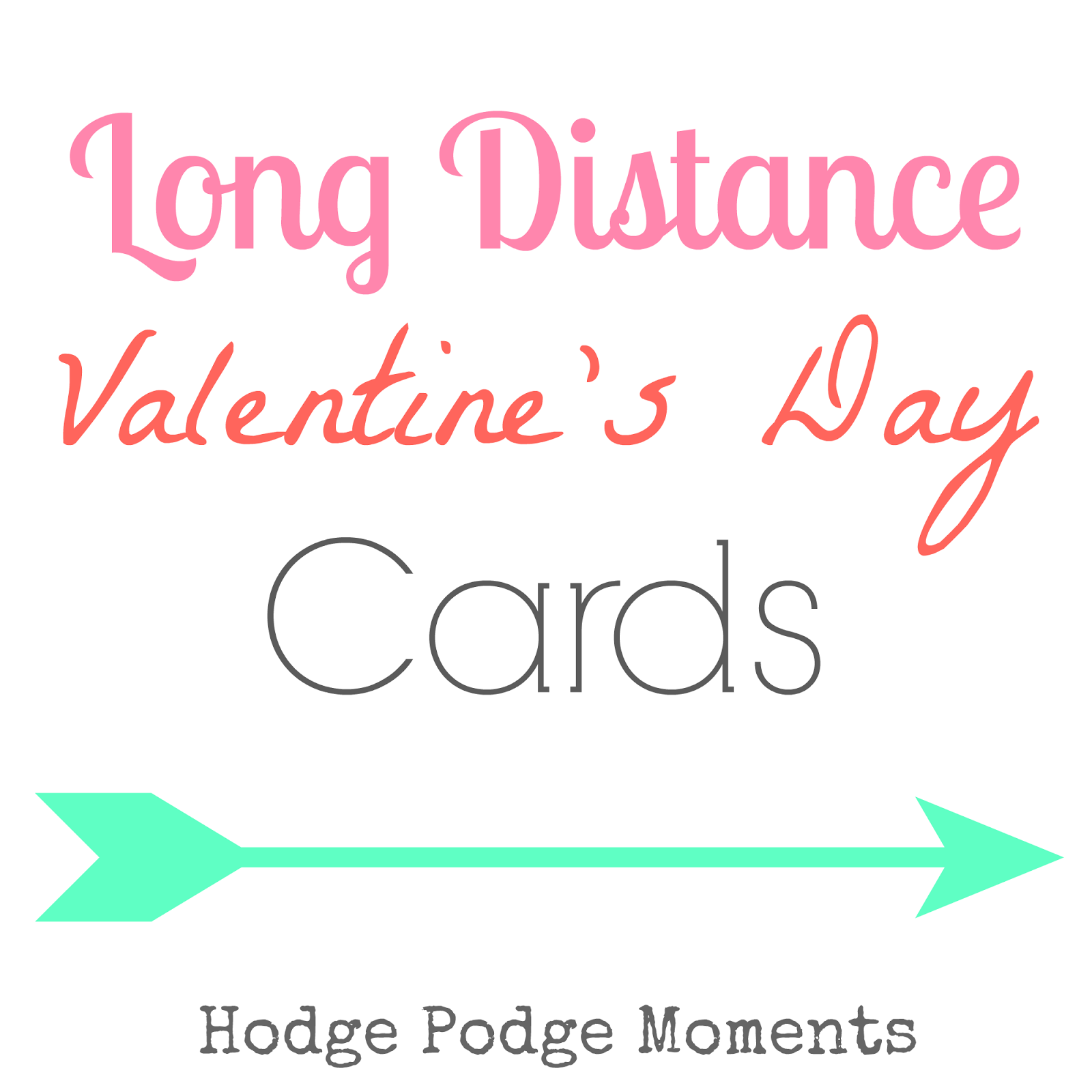 Long Distance Valentine's Day Cards