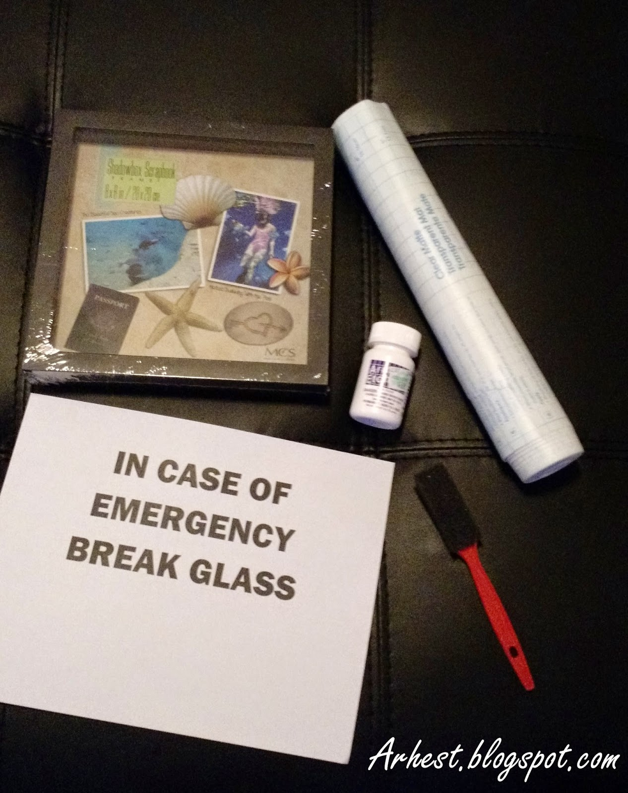Arhest In Case Of Emergency Break Glass