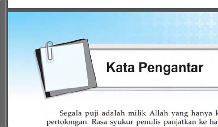 Contoh Kata Pengantar Disalin Dari Buku Agama Islam Smk Kelas 10