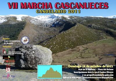 Candelario Salamanca cartel de la marcha Cascanueces 2011