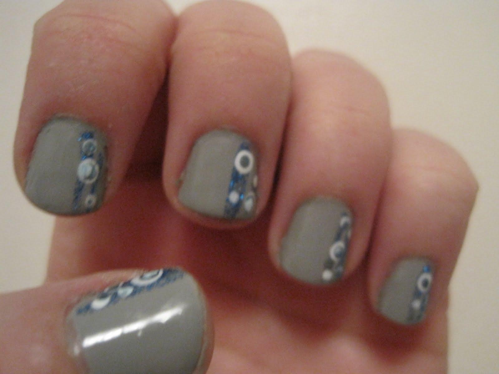 Alikat789 Nail art: April designs so far