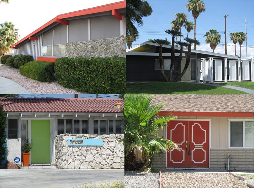 Paradise Palms Mid Century Modern Paint Colors