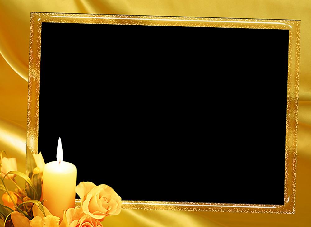 4 hermosos marcos para fotos florales en png 1 parte - Paredes con marcos de fotos ...