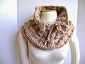 Knit a Basket Weave Cowl $5.00