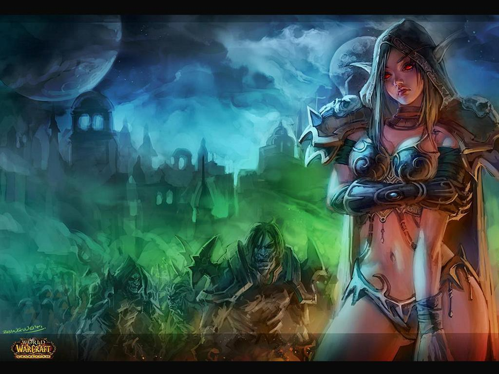 World of Warcraft HD & Widescreen Wallpaper 0.740147247544017