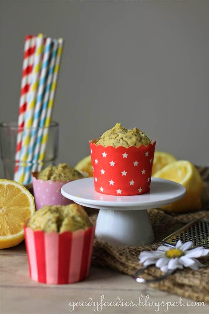 GoodyFoodies: Recipe: Lemon & Orange Poppy Seed Muffins