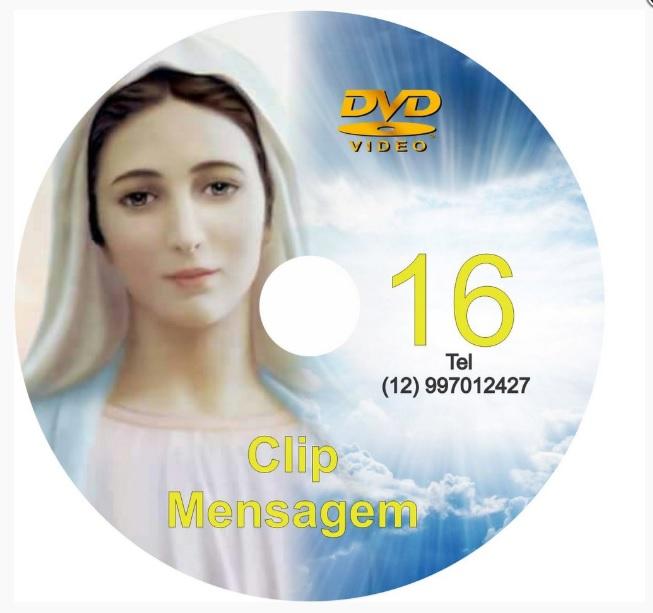 DVD CLIP DE MENSAGENS DE NOSSA SENHORA