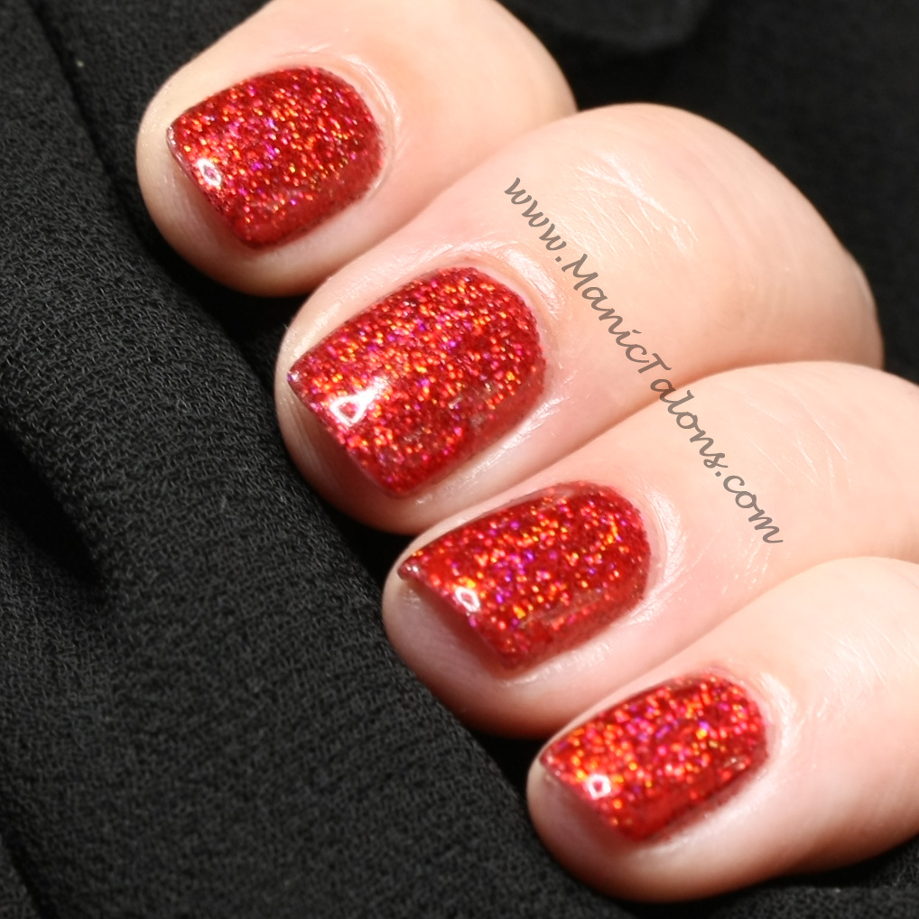 Manic Talons Nail Design: ArtsyFartsy Crafts Glitter Review: When In ...