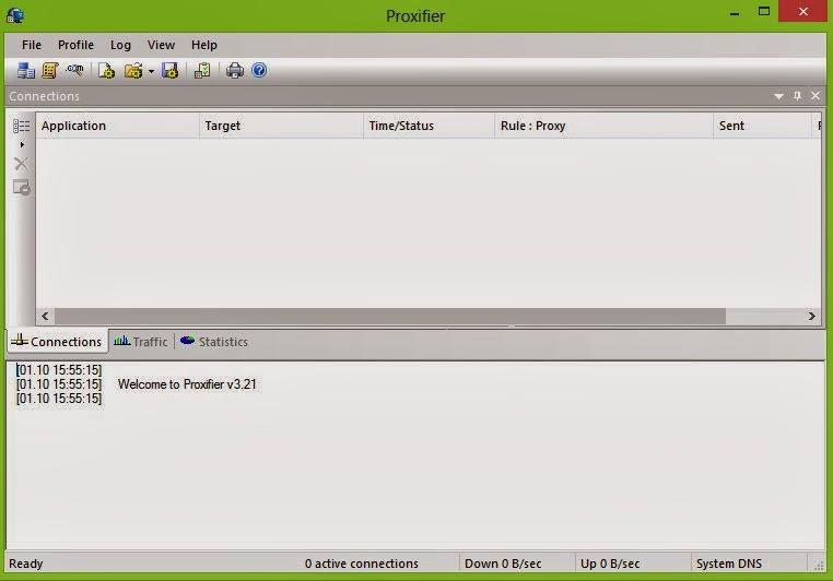 Download Proxifier 3.29 Terbaru Full Key/Serial Number