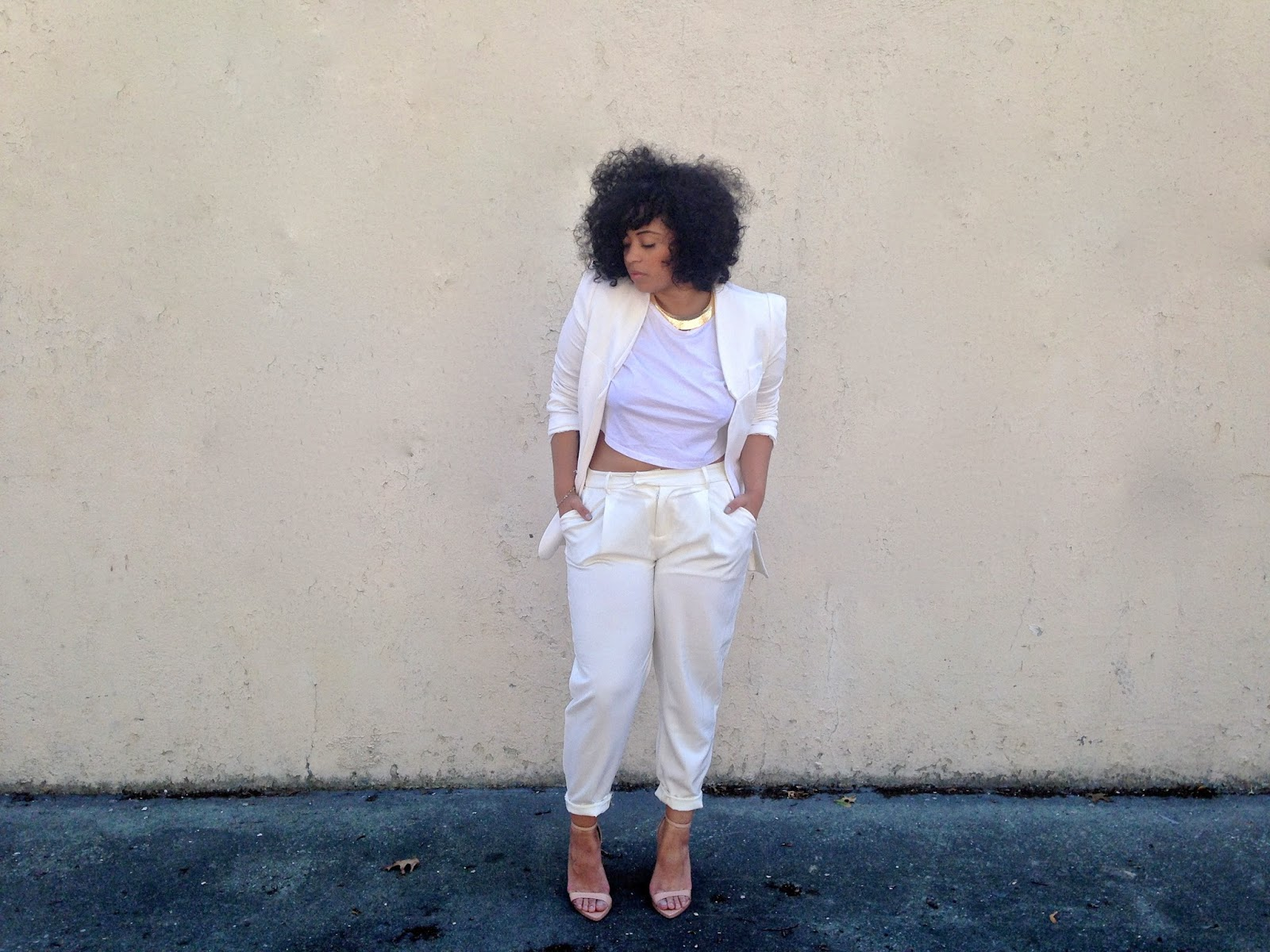 OUTFIT| ALL WHITE AFFAIR | BrooklynPetite