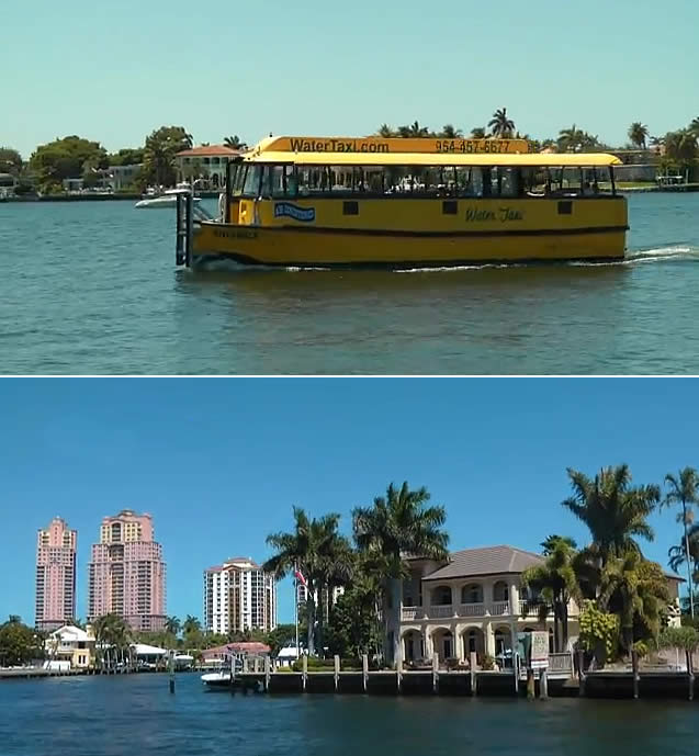 Water Taxi - Fort Lauderdale, EUA