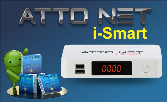 ATUALIZAÇÃO FREESATELITAL ATTO NET I-SMART