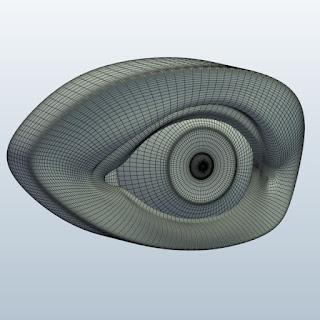 Wireframe Eye
