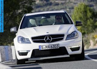 Mercedes c63 amg front view - صور مرسيدس c63 amg من الخارج