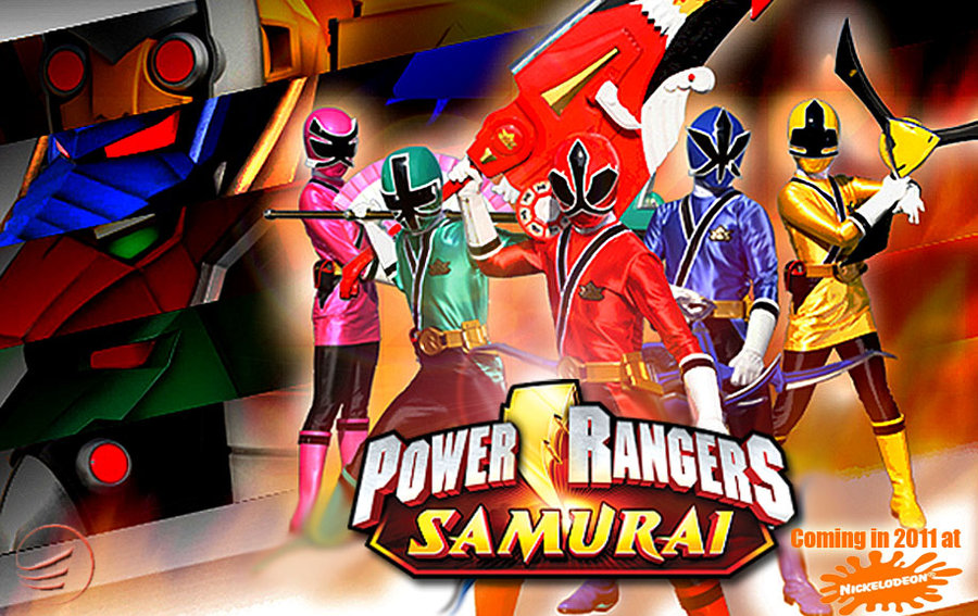 power rangers samarai