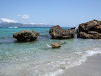 Fond d'écran juillet / août 2011 - La plage de Mal Pas à Majorque (Baléares)