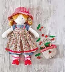 como fazer uma boneca de pano