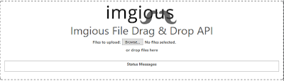 Imgious the fast and simple image hosting site
