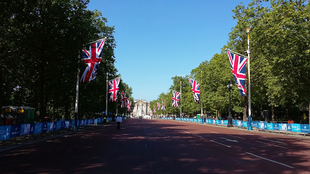 Race Report: BUPA Westminster Mile