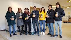 Premi Solidari Gallina Blanca BC2018 Moixiganguers d'Igualada al Banc de Queviures
