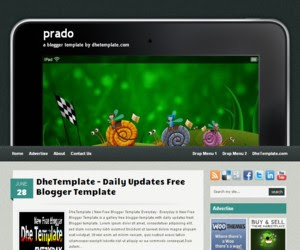 Prado Blogger Template