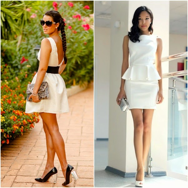 look invitada comunion blanco