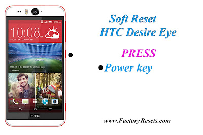 Soft Reset HTC Desire Eye