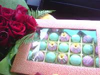 Popcake dan Bunga Rose - Tengku Shafiq, KL