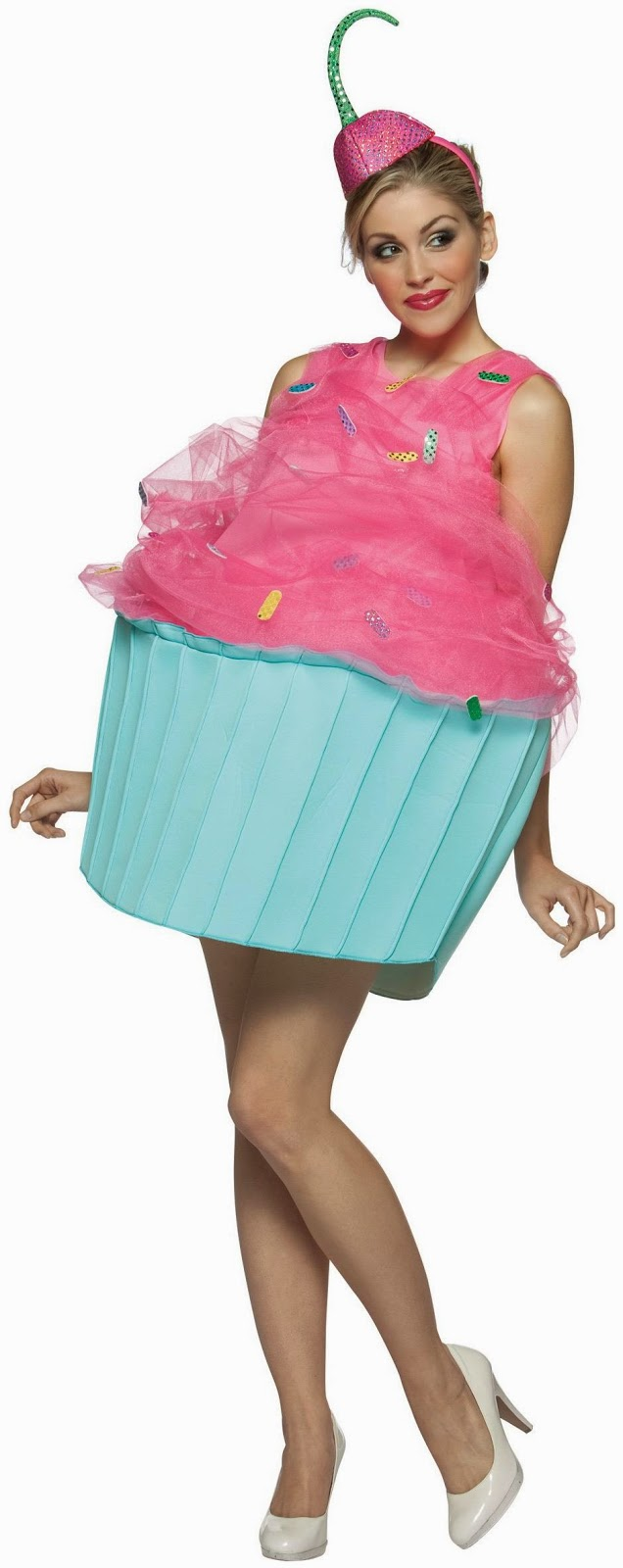 Sweet Eats Cupcake Adult Costume