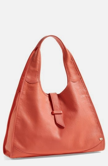 SJP Sarah Jessica Parker New Yorker Leather Hobo
