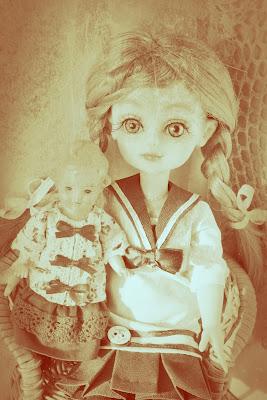 одежда для винтажных кукол