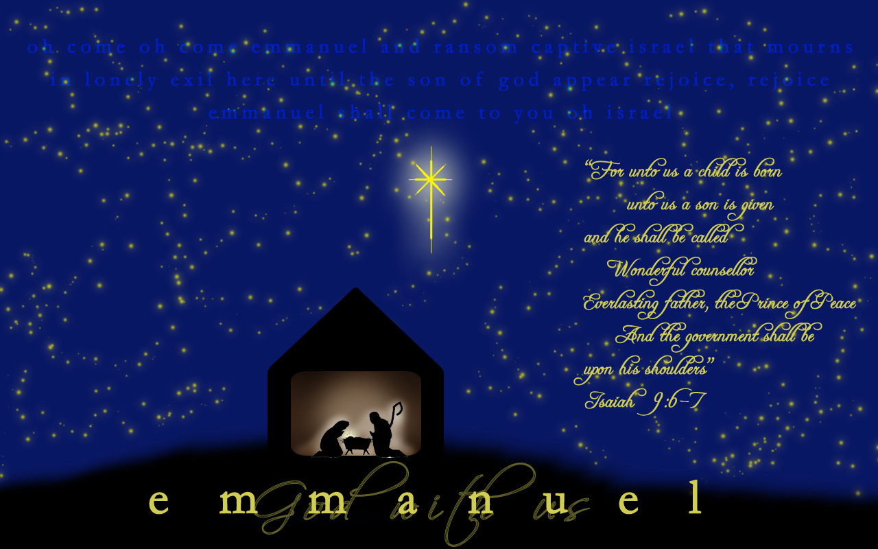 In the Throne Room: Emmanuel...God with us!!