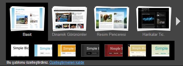 Blogger Şablon Tasarımcısı