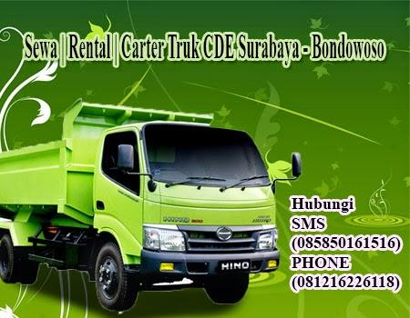 Sewa | Rental | Carter Truk CDE Surabaya - Bondowoso