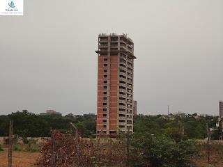 Obras do edifício Mansão Cariri.
