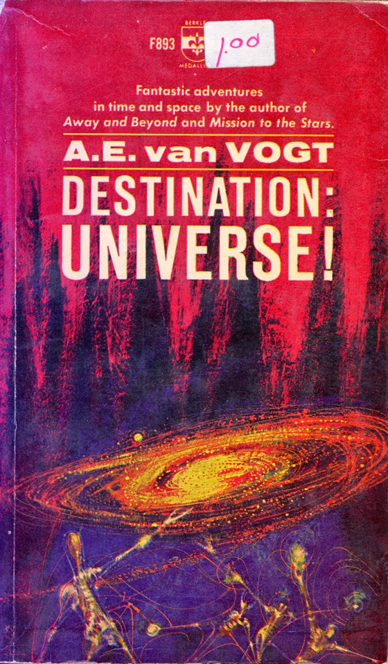 Richard M.Powers Science Ficcion book cover