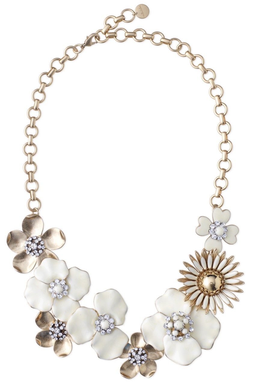 the peak of tr s chic stella and dot fiona bib necklace