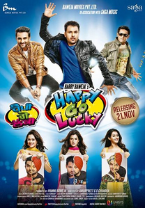 Watch Happy Go Lucky (2014) DVDScr Punjabi Full Movie Watch Online Free Download