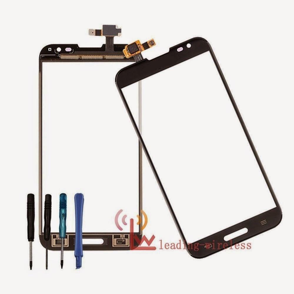 Touch Screen Digitizer Glass Lens For LG E986 E988 Optimus G Pro 5.5 Black