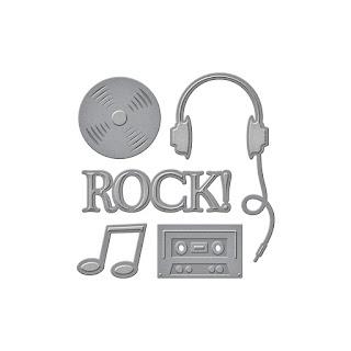 SBS2-209 Spellbinders D-Lites - Sing it Loud 2