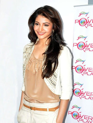 Anushka Sharma Sizzles at IPL - Godrej Power Play launch