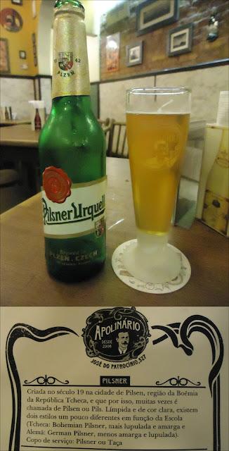 cerveja, Apolinário, pilsner