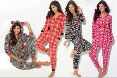 Ladies Fleece Onesies
