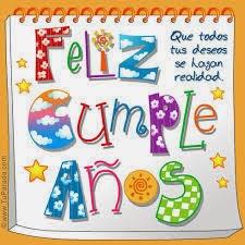 Postales, tarjetas de feliz cumpleaños 2015