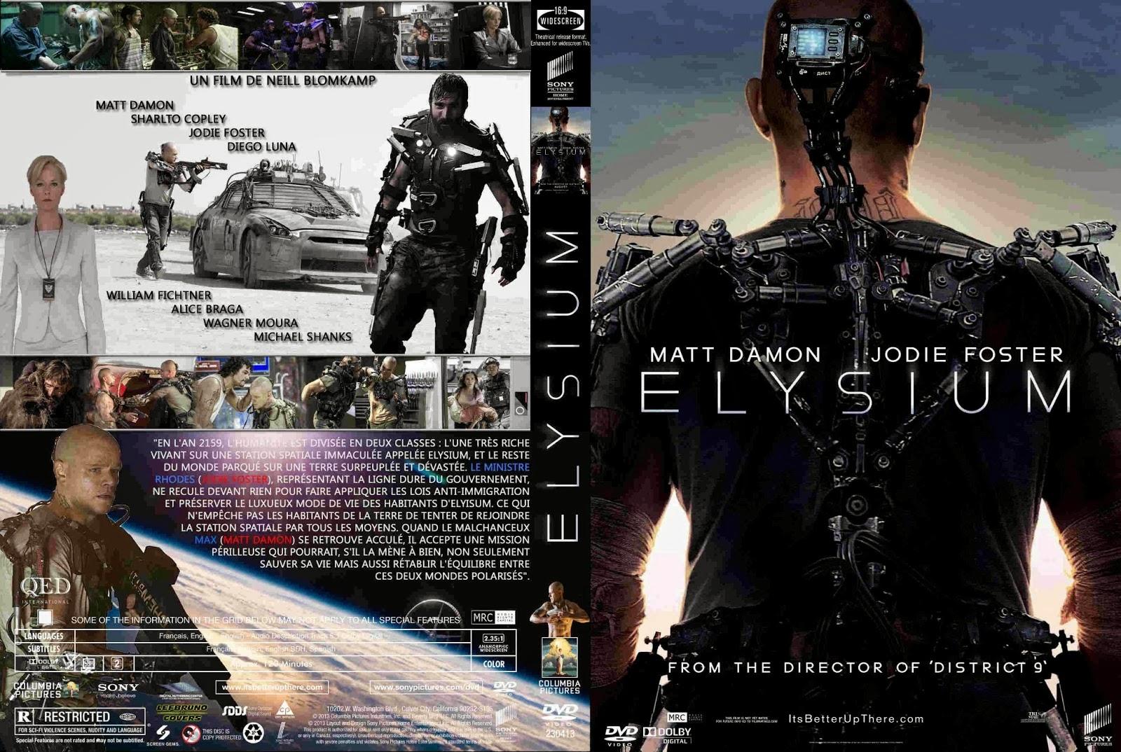 Torrent - Elysium Blu-ray rip 720p e 1080p Dual Áudio 5.1 (2013)