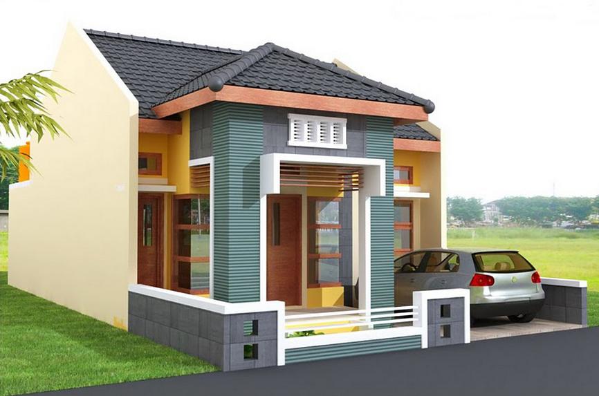 desain rumah minimalis 1 lantai 3 kamar tidur desain