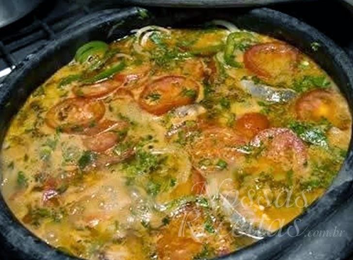 Receita de prato típico peixada