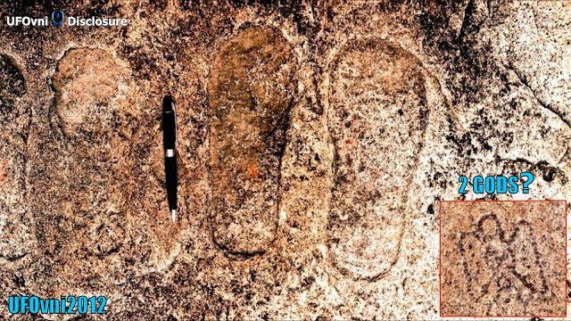 """En Inde, l'étude de pierre """"traces d'étrangers"""""""