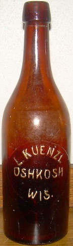 Kuenzl Bottle, 1880s